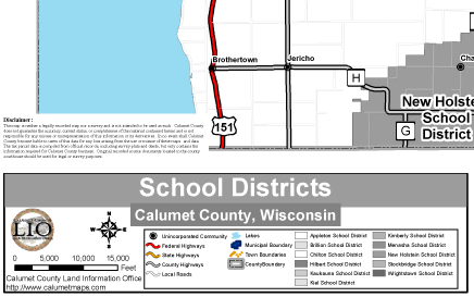 Calumet County School Districts